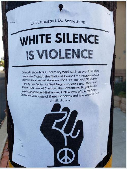 Silence is violence/silence is complicity agree or disagree?