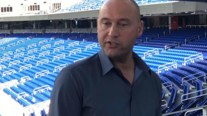How successful do you think Derek Jeter is at being Chief Executive Officer of the Miami Marlins?