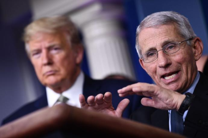 """Fauci: For reasons that are inconceivable and not understandable, Americans don't believe science and they don't believe authority."""" Do you agree?"""