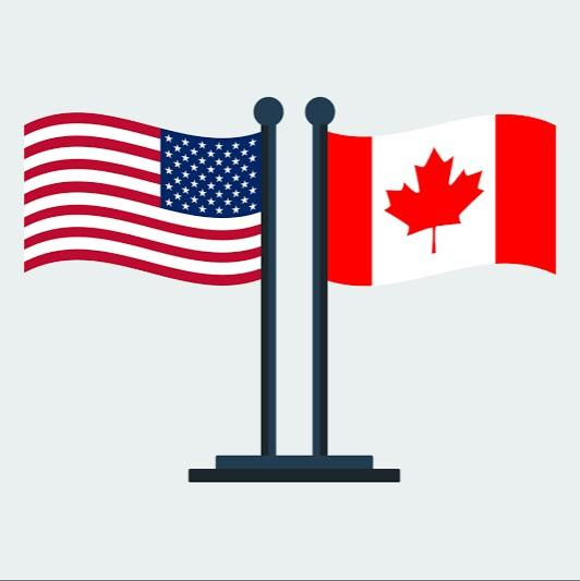 Why Canada and USA are not the only countries?