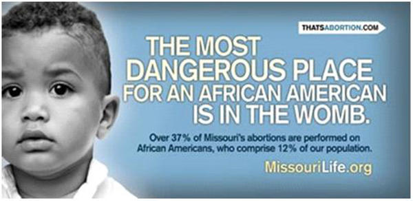 Did you know - In the United States, depending on the state. black children are being aborted. at twice or more times the rate of white children. ?