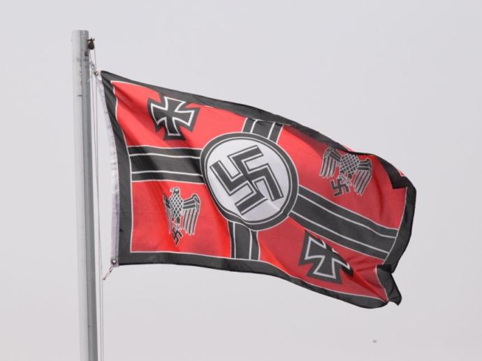 Which of these flags do you think is more offensive to most people and not to you particularly?
