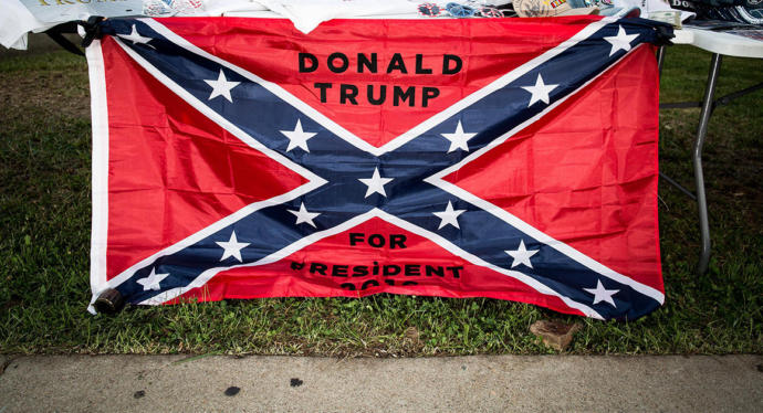 The Far Right cries its their heritage to wave the Confederate Flag. Using that logic, judging a person is heritage?