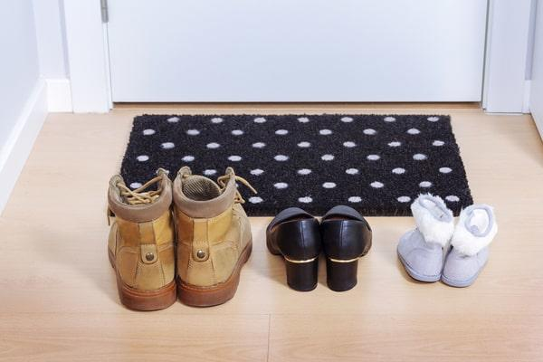 Do you allow guests to wear shoes in your house?