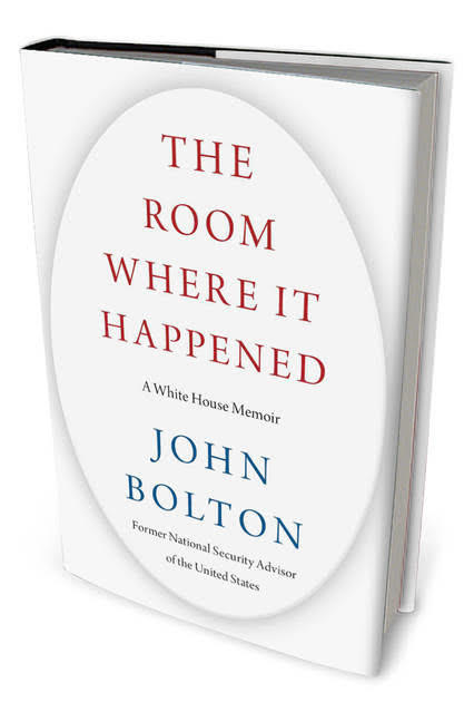 Are you going to get The Room Where It Happened by John Bolton?