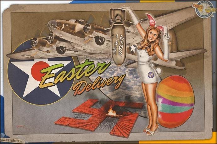 Do you like nose art from WWII?