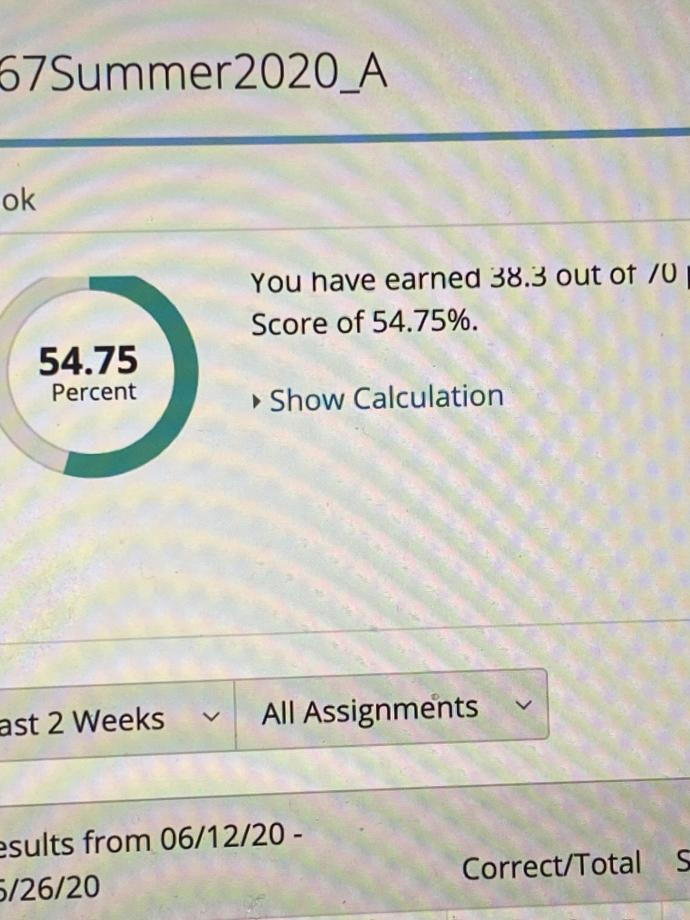 😭 Do you think I can recover from such a low grade? Do you think I should ask the teacher for some help?
