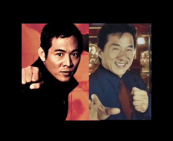 Fave actor out of Jackie Chan or Jet Li?