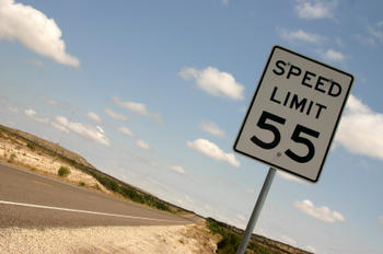 Do you believe in following the speed limit and do you actually try to obey the speed limit rule?