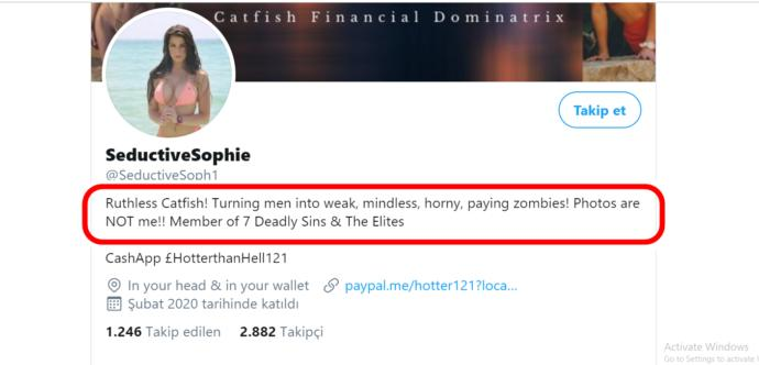 What do you think about this feminist woman who wrote this in Twitter?