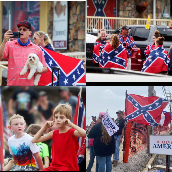 How do you feel about people flying the Confederate Flag?