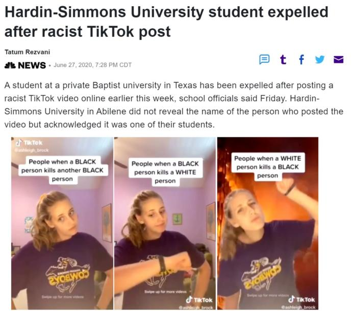 Do you think its stupid Hardin Simmons was expelled for telling the truth about whites, blacks and society?