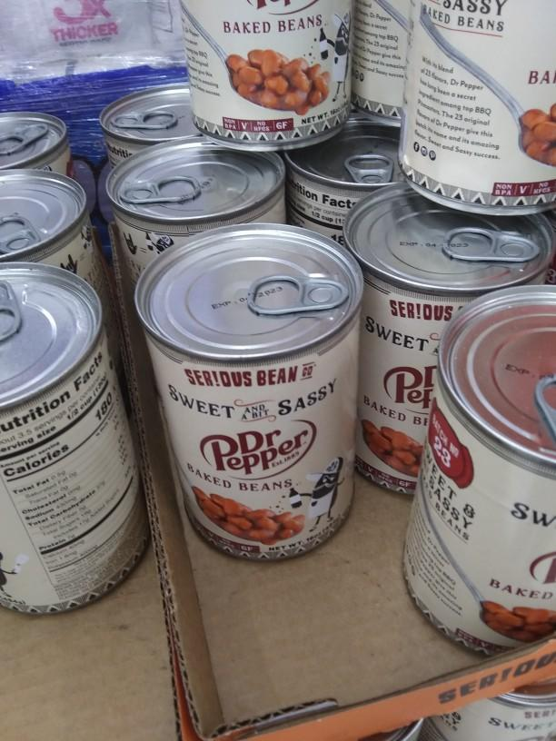 What do you think of Dr. Pepper baked beans?