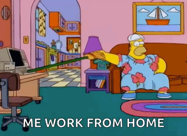 Isnt working at home awesome?