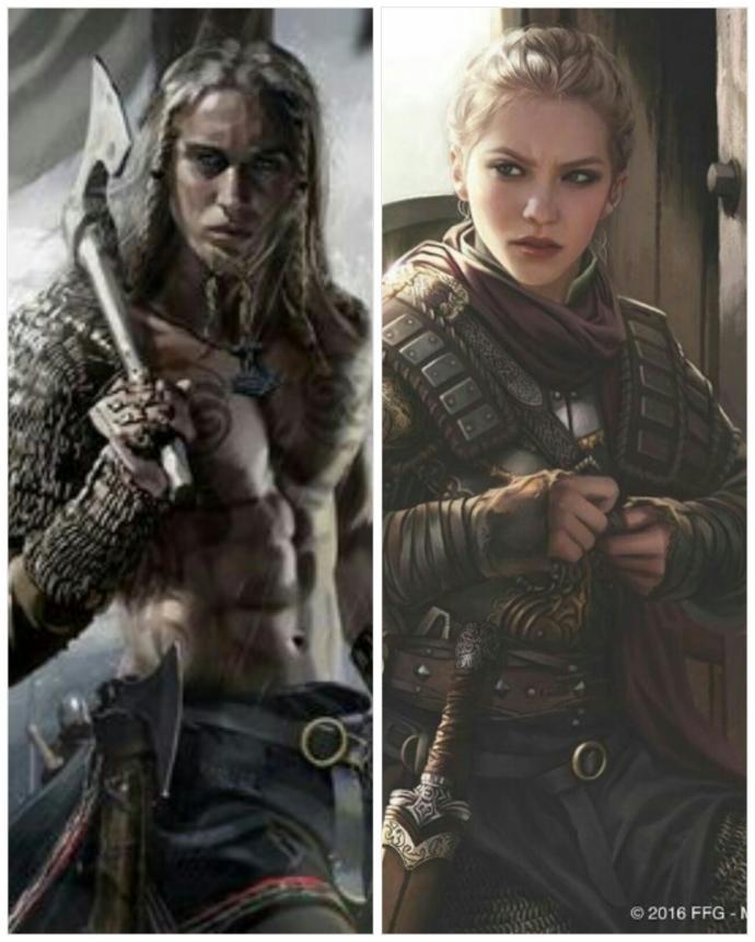 Viking Warriors (male/female)