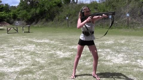 Theres only TWO types of girls... Those who can shoot... And those who cannot...
