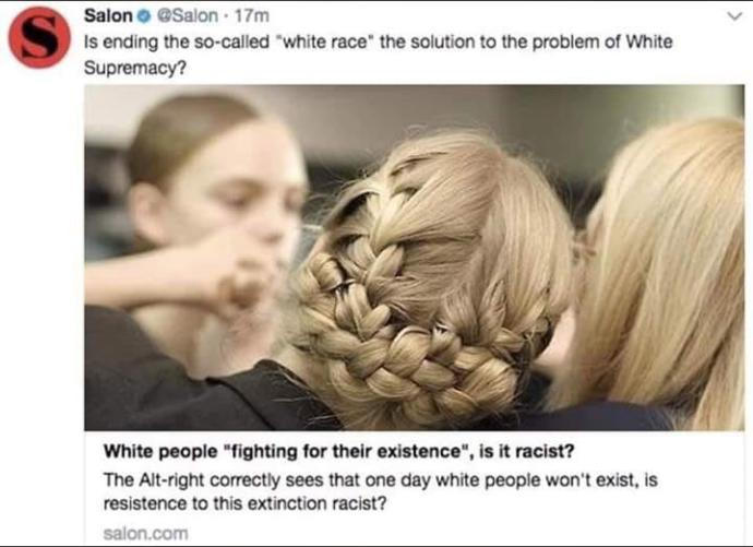 Is getting rid of white people the solution to end racism?