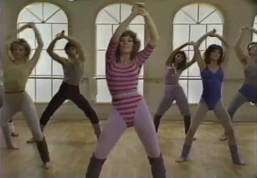 Is dancing one of your fave methods of working out?