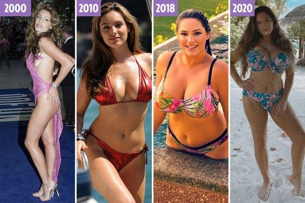 Kelly Brook is 40. Would you say shes aged well?