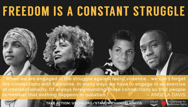 Do you agree with Black Lives Matter than we should support the Palestinian people's struggle for liberty?