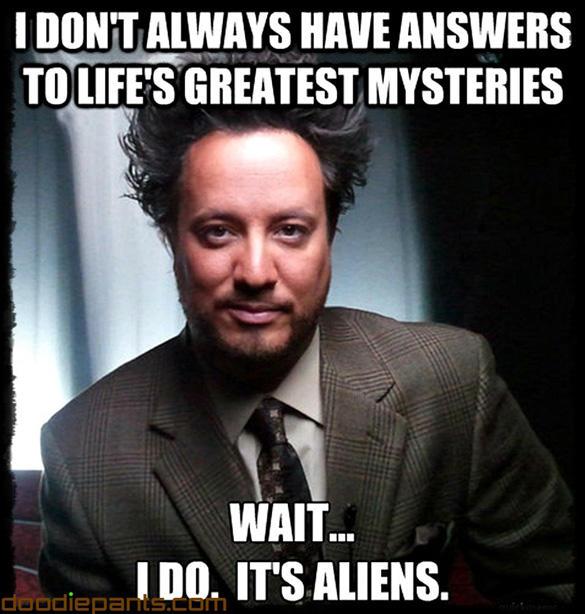 Did Aliens help build Egypts wonders?