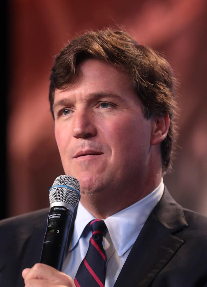 Is your opinion of Tucker Carlson Positive or Negative?