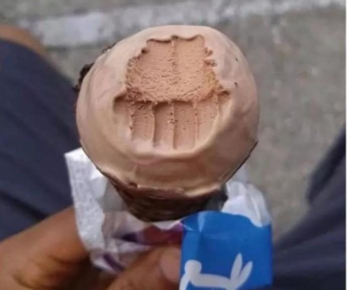 Do you bite or lick your ice-cream ?