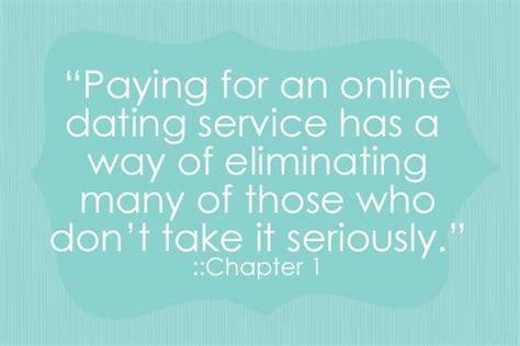 Whats your opinion on online dating services, that charge money from men only?
