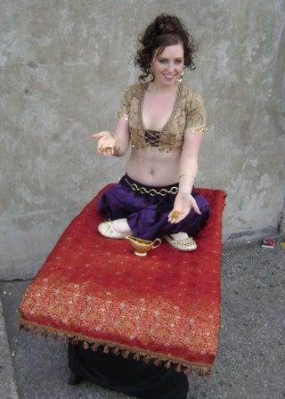 If Aladdin gave you his Magic Carpet, what would you do with it?