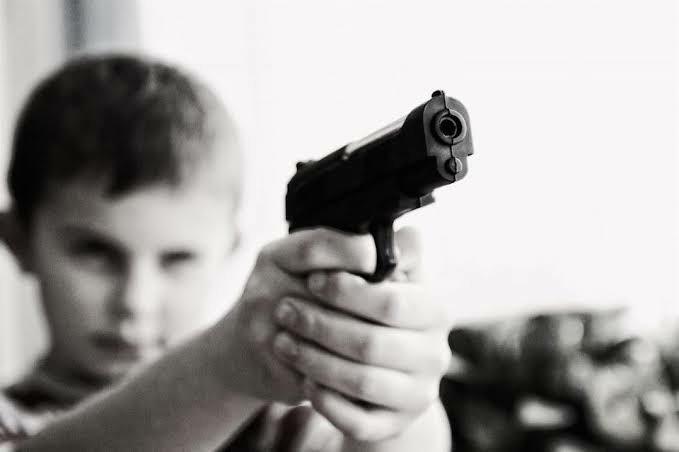 Would you shoot a child if he/she tried to kill you?