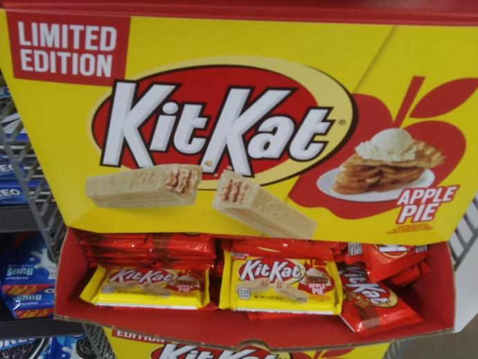 What do you think of the idea of an Apple pie flavored Kit Kat?
