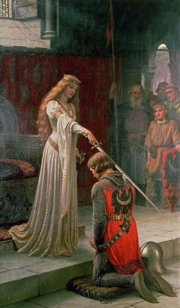 Would you ever want to be knighted so people would have to call you sir and does knighting happen for women?