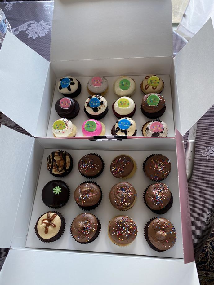 Do you like my birthday cupcake?