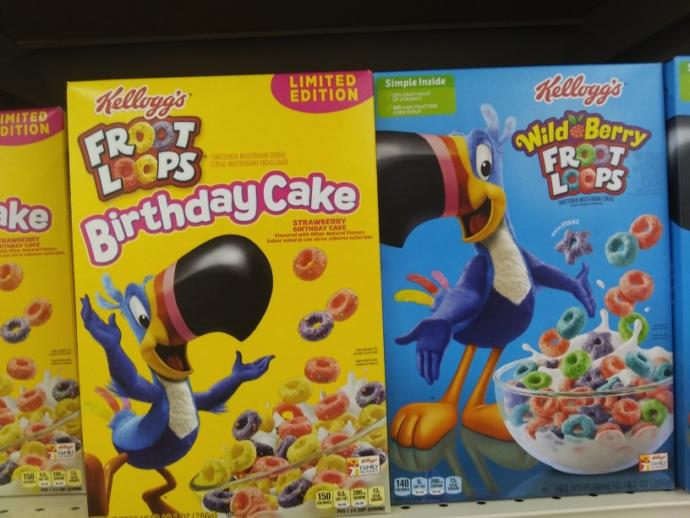 Which cereal looks the most interesting in terms of flavor?