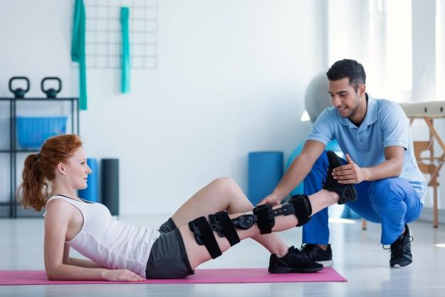 Have you ever had to do physical therapy before?