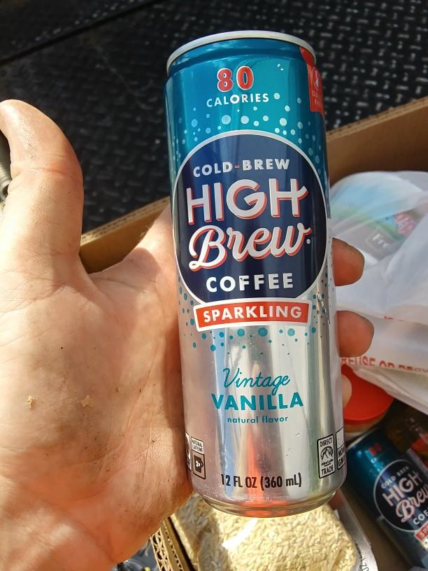 What do you think of the idea of sparkling coffee?