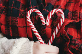 Why are candy canes associated with Christmas?