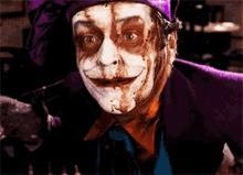 Jack Nicholson Joker ( I love heath ledger too but this one is a classic)