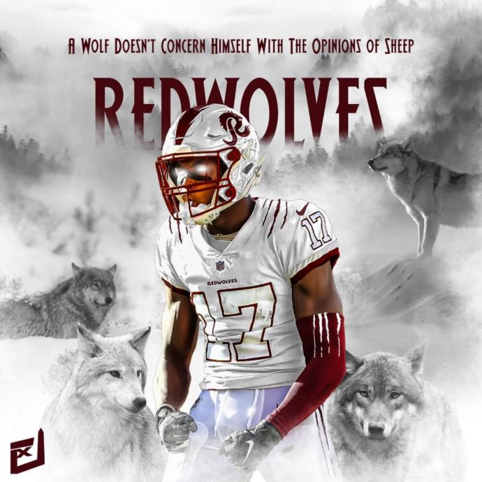 What do you think about the Washington Redwolves?