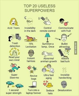 Is silliness a superpower?