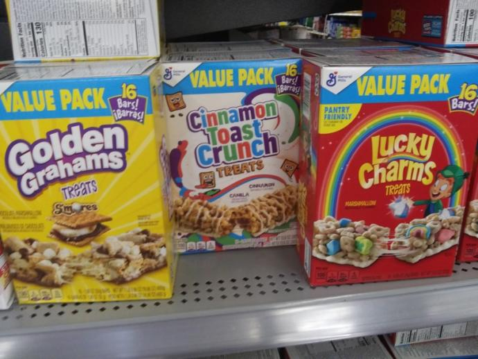 From these snacks I found at wal-mart today which one looks the interesting to you?