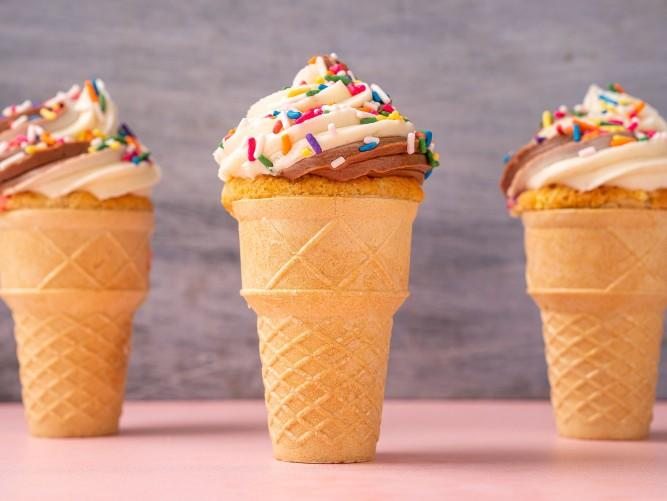 Which do you like more ice cream in cone or cup?