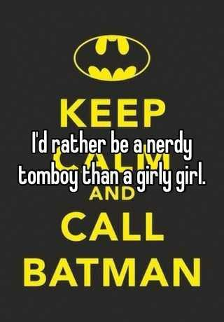 Have you ever heard of a nerdy tomboy before?