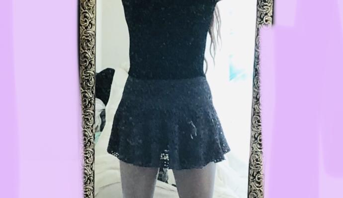 As outfit : Yes/ No? (Please excuse fuzz on mirror. Only saw it after took pics)?