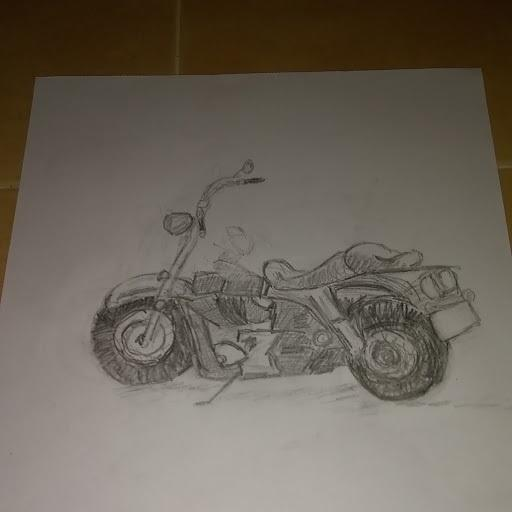 How is my art, please be nice?