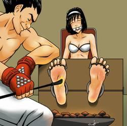 Bastinado (foot whipping), would you try it as sexual foreplay?
