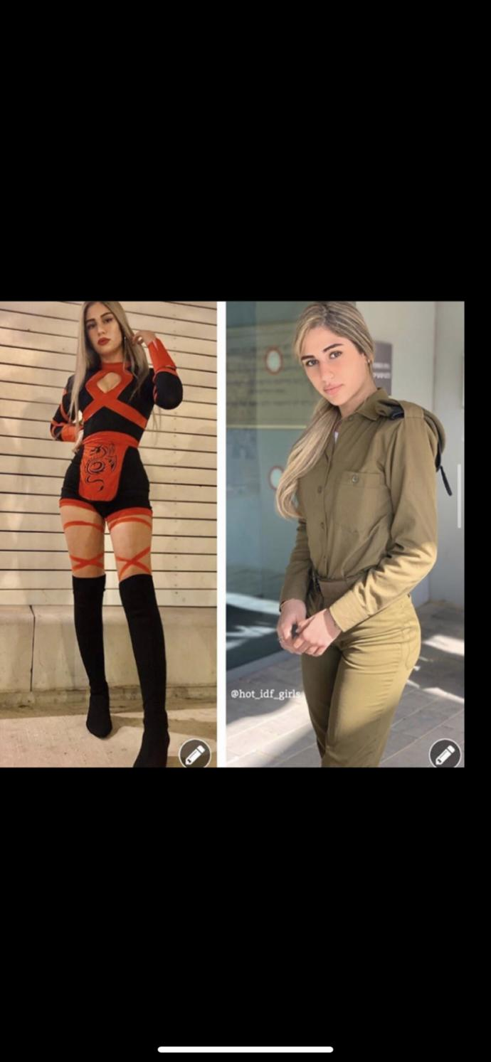 Can we all take the time to appreciate the women of the IDF?