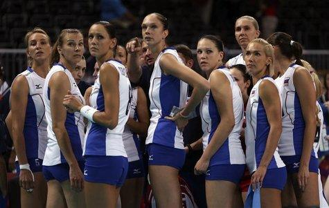 Which countries are the most successful volleyball national teams in the world?