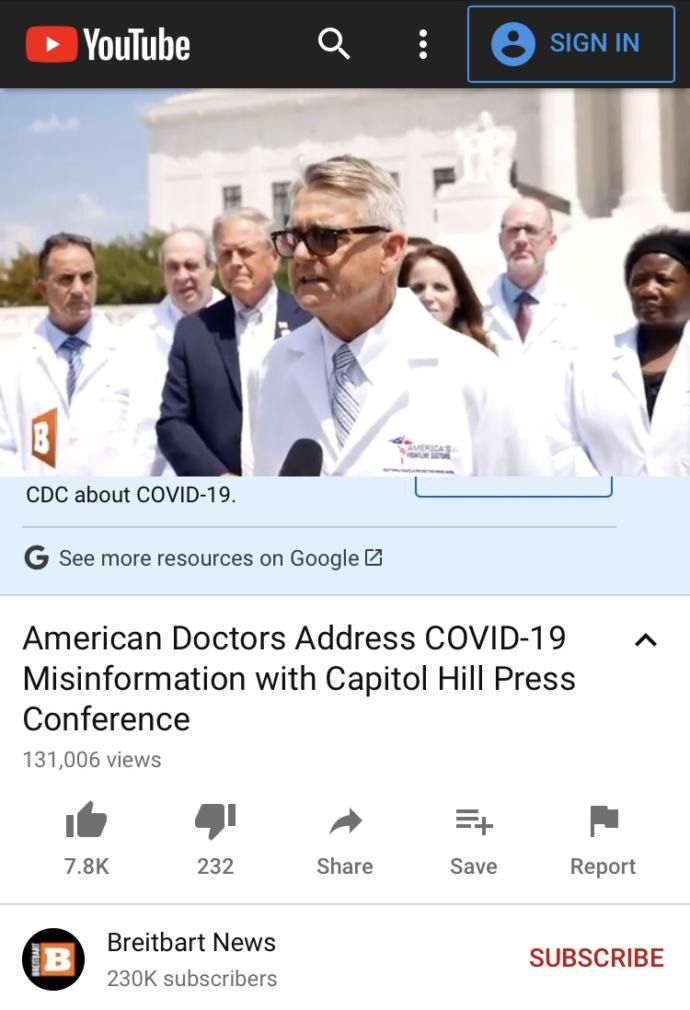 What do you think of REAL DOCTORS getting upset with FAKE SCIENTISTS?