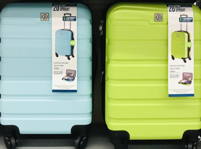 Travel luggage ON SALE for 15$ : IYO WHICH COLOR goes better with my wardrobe / hair (Assume Hair is most often lavender) I can't decide🤷♂️ 🤓?